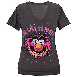 Me Like to Party Animal Tee for Women -- Made With Organic Cotton