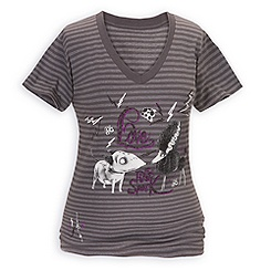 Striped Frankenweenie Tee for Women