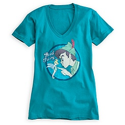 Peter Pan and Tinker Bell Tee for Women