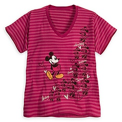 Mickey and Minnie Mouse Tee for Women - Plus Size
