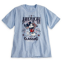 Mickey Mouse Tee for Men - American Classic - Plus Size