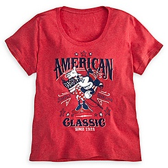 Minnie Mouse Tee for Women - American Classic - Plus Size