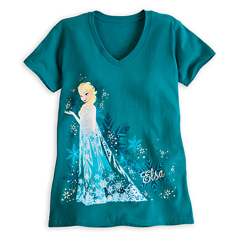 Journey into shopDisney's official Frozen Shop for the coolest t-shirts and tops.