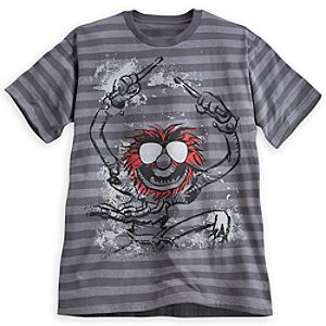 Animal Striped Tee for Men - The Muppets