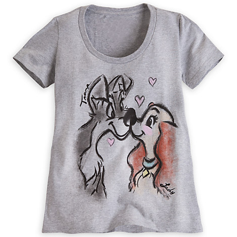 Lady And The Tramp Tee For Women Tees Tops Shirts