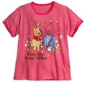 Winnie the Pooh and Eeyore Tee for Women - Plus Size