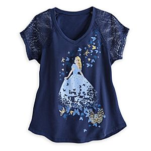 Cinderella Lace Tee for Women - Live Action Film