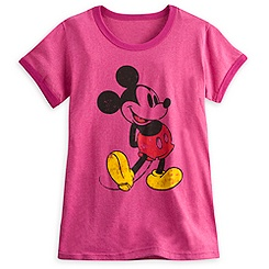 Mickey Mouse Classic Ringer Tee for Women