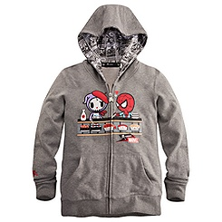 Spider-Man Hoodie for Women by Tokidoki