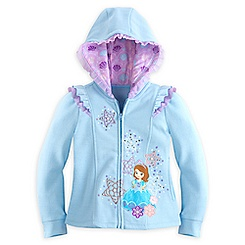 Sofia Zip Hoodie for Girls