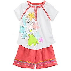Tinker Bell Tee and Shorts Set for Girls