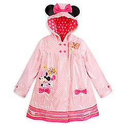 Minnie Mouse Clubhouse Rain Jacket for Girls