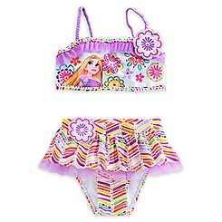 Rapunzel Deluxe Swimsuit for Girls - 2-Piece