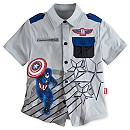 Captain America Shirt for Boys