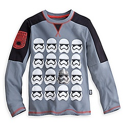 Stormtrooper Long Sleeve Tee for Kids - Star Wars: The Force Awakens