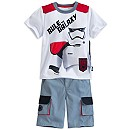 Stormtrooper Tee and Shorts Set for Kids