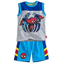 Spider-Man Tank and Shorts Set for Boys