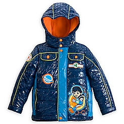 Miles from Tomorrowland Hooded Puffy Jacket for Boys