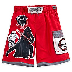 Star Wars: The Force Awakens Swim Trunks for Boys