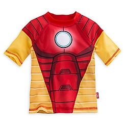 Iron Man Rashguard for Boys