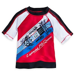 Lightning McQueen Rashguard for Boys
