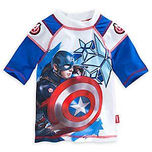 Captain America: Civil War Rash Guard for Boys