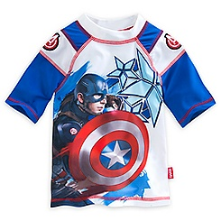 Captain America: Civil War Rash Guard for Boys