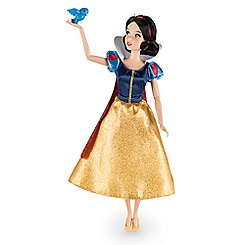 Snow White Classic Doll with Bluebird Figure - 12''