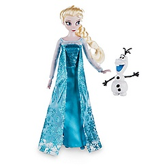 Elsa Classic Doll with Olaf Figure - Frozen - 12''