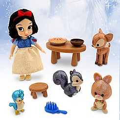 Disney Animators' Collection Snow White Mini Doll Play Set - 5''