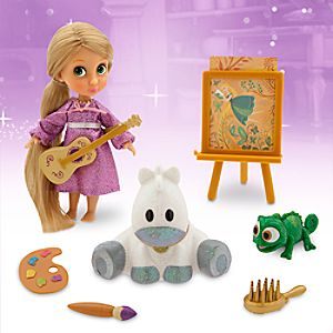 Disney Animators' Collection Rapunzel Mini Doll Play Set - 5''