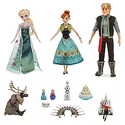 Frozen Fever Deluxe Doll Gift Set - 11''