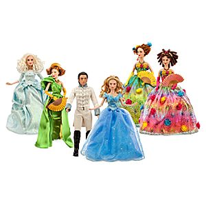 Cinderella Doll Set - Live Action - Disney Film Collection