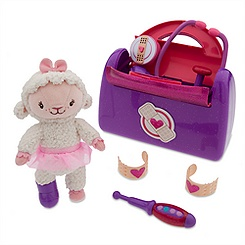 Doc McStuffins Doctor Bag Play Set with Lambie Plush