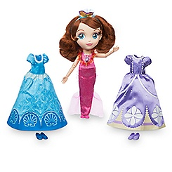 Sofia the First Doll and Wardrobe Set - Mermaid