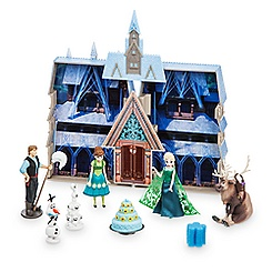 Frozen Fever Water-Color Changing Color Playset