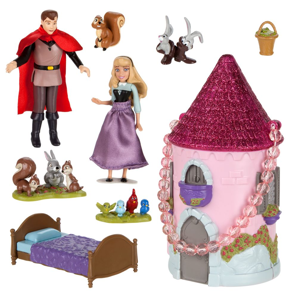Sleeping Beauty Mini Castle Play Set