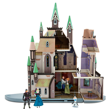 Disney Store Frozen Castle Of Arendelle Playset Palace
