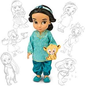 Disney Animators' Collection Jasmine Doll -- 16'' H