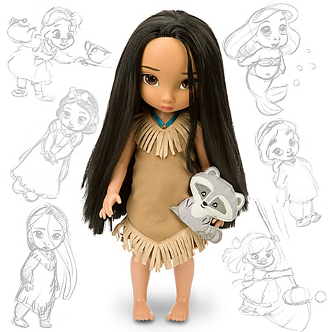Disney Animators' Collection Pocahontas Doll -- 16'' H