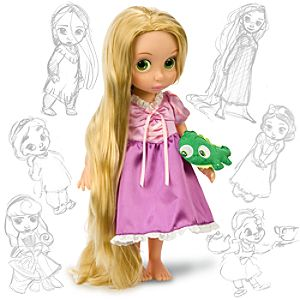 Disney Animators' Collection Rapunzel Doll -- 16'' H