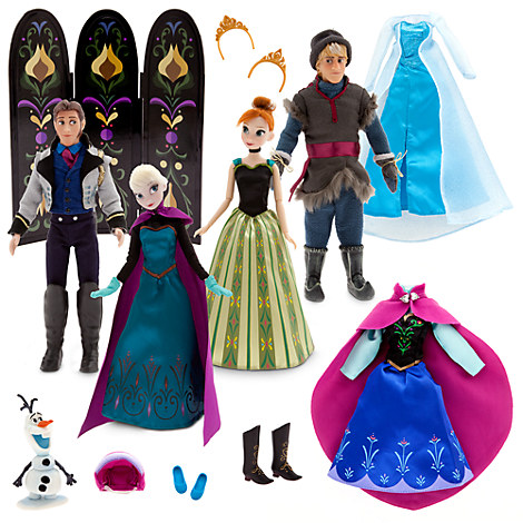 Frozen Deluxe Doll Gift Set