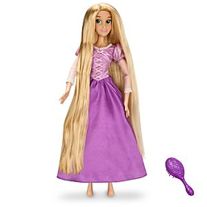 Singing Rapunzel Doll -- 17'' H