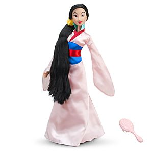 Mulan Singing Doll