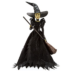 Wicked Witch of the West Doll - Oz The Great and Powerful - 11 1/2''