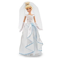 Cinderella Wedding Doll - Classic Disney Princess - 12''