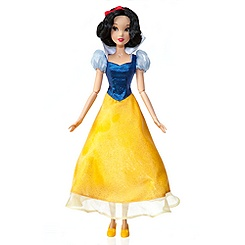 Singing Snow White Doll -- 17'' H