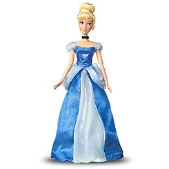 Singing Cinderella Doll -- 17'' H