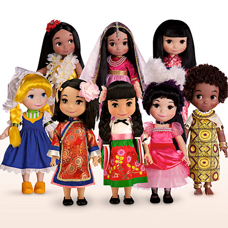''it's a small world'' Hawaii Singing Doll - 16''