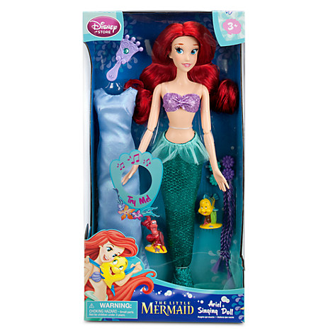 можно носить кукла ариэль дисней русалочка поющая купить поразило